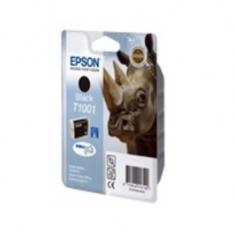 CARTUCHO TINTA EPSON T1001 NEGRO 25.9ML STYLUS B600FW/ SX515W/ SX600FW/ RINOCERONTE