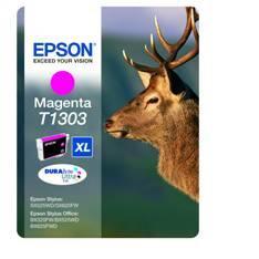 CARTUCHO TINTA EPSON T1303 MAGENTA STYLUS SX525WD/620FW/B42WD/525WD/625FWD/ CIERVO