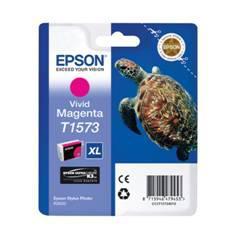 CARTUCHO TINTA EPSON T157340 MAGENTA VIVO PARA EPSON PHOTO R3000 / C13T15734010/ TORTUGA