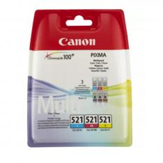 MULTIPACK CANON CLI 521 PIXMA 3600/ 4600/ 4700/ MP540/ 550/ 560/ 620/ 630/ 640/ 980/ MX860/ 870 BLISTER