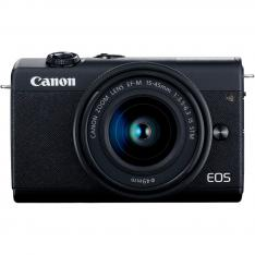 CAMARA DIGITAL CANON EOS M200 NEGRA EF-M/ 24.1MP/ DIGIC 8/ 4K/ WIFI/ BLUETOOTH