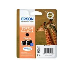 PACK 2 TINTAS  EPSON T07114H10 NEGRO GRAN CAPACIDAD PACK DE 2 UNIDADES/ JIRAFA