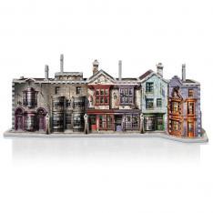 PUZZLE 3D WREBBIT HARRY POTTER CALLEJON DIAGON 450 PIEZAS