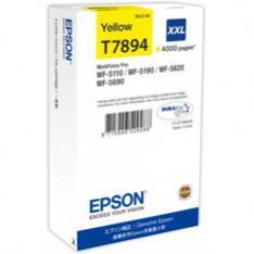 CARTUCHO TINTA EPSON C13T789440 AMARILLO XXL 4000 PAGINAS