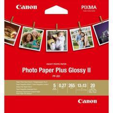 PAPEL CANON FOTO PP-201 2311B060 13X13/ 20 HOJAS