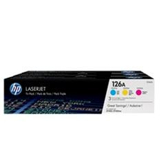 TONER HP 126A CE310A NEGRO 1200 PAG CP1025NW/