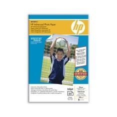 PAPEL HP FOTOGRAFICO SATINADO Q8691A 250GR 10X15 25 HOJAS