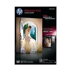 PAPEL HP FOTOGRAFICO SATINADO CR672A/ A4 (210x297)/ 300 GR/ 20 HOJAS