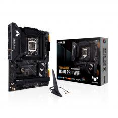 PLACA BASE ASUS INTEL TUF GAMING H570-PRO WIFI SOCKET 1200 DDR4 X4 MAX 128GB 3200MHZ DISPLAY PORT HDMI ATX
