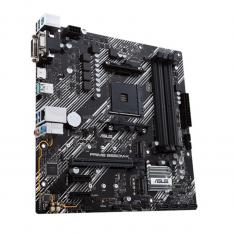 PLACA BASE ASUS AMD  PRIME B550M-K SOCKET AM4 DDR4 X4 MAX 128GB 3200 MHZ D-SUB DVI-D HDMI MATX