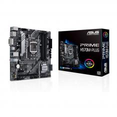 PLACA BASE ASUS INTEL PRIME H570M-PLUS SOCKET 1200 DDR4 X4 MAX 128GB 2933 MHZ DISPLAY PORT HDMI DVI-D mATX