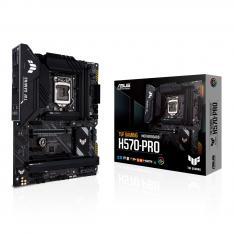 PLACA BASE ASUS INTEL TUF GAMING H570-PRO SOCKET 1200 DDR4 X4 MAX 128GB 2933MHZ HDMI DISPLAY PORT ATX