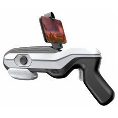 PISTOLA GAMING  AR MAGIC GUN 4D REALIDAD AUMENTADA BLUETOOTH BLANCO Y NEGRO