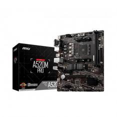 PLACA BASE MSI AM4 A520M PRO M-ATX