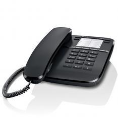 TELEFONO FIJO GIGASET DA410 NEGRO 10 TONOS