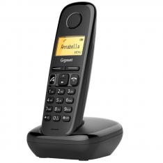 TELEFONO FIJO INALAMBRICO GIGASET A270 DUO NEGRO 80 NUMEROS AGENDA/ 10 TONOS/ MANOS LIBRES