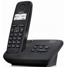TELEFONO FIJO INALAMBRICO GIGASET AL117A / CONTESTADOR / NEGRO