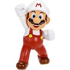 """Figura Nintendo W1 Mario Flor de Fuego 2.5"""" Edicion Limitada"""