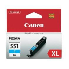CARTUCHO TINTA CANON CLI 551 XL CIAN  MG6350/ MG5450
