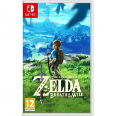 JUEGO NINTENDO SWITCH - THE LEGEND OF ZELDA: BREATH OF THE WILD