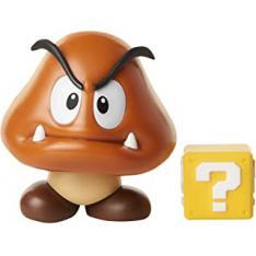 """Figura Nintendo W3 Goomba con Coin 4"""" Edicion Limitada"""