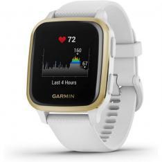 SMARTWATCH GARMIN SPORTWATCH GPS VENU SQ / F.CARDIACA / GPS / GLONASS / GALILEO / BT / C. ESTRES / BLANCO