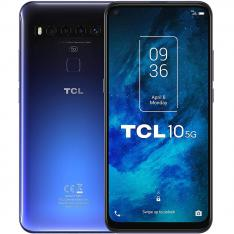 "TELEFONO MOVIL SMARTPHONE TCL 10 5G  BLUE / 6.53""/  128 GB ROM/ 6GB RAM/  NXTVISION/ VIDEO 4K/ 64+8+5+2 MPX/ HDR 10/ 64MPX/ 4500 MAH/"