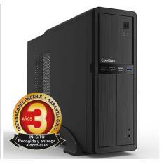 ORDENADOR DE OFICINA PHOENIX OBERON PRO INTEL CORE I3 10º GEN 8GB DDR4 240 GB SSD RW MICRO ATX SLIM  PC SOBREMESA