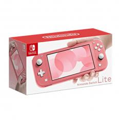 CONSOLA NINTENDO SWITCH LITE CORAL