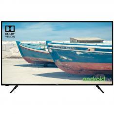 "TV HITACHI 50"" LED 4K UHD/ 50HAK5751/ HDR10/ ANDROID SMART TV/ WIFI/  4 HDMI/ 2 USB/ A+/ BLUETOOTH/ DVB T2/ DVB S2"
