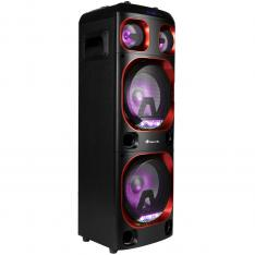 "ALTAVOZ PREMIUM NGS WILD SKA 1 300W/ WOOFER 8"" X2/ USB/ MICRO SD/ BLUETOOTH/ AUX"