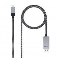 CABLE NANOCABLE CONVERSOR USB TIPO C A DISPLAYPORT USB TIPO C/MDP/M NEGRO 1.8 M