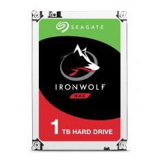 DISCO DURO INTERNO HDD SEAGATE IRONWOLF 1TB SATA3 64MB