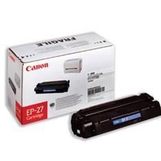TONER CANON EP 27 NEGRO 2500 PÁGINAS LBP3200/ 3000/ MFC3220/ MFC3240