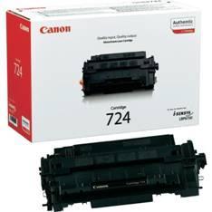 TONER CANON 724 NEGRO 6000 PAGINAS I-SENSYS LBP6750DN
