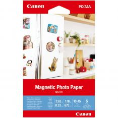 PAPEL CANON FOTO MAGNETICO MG-101 3634C002 A6 10X15/ 5 HOJAS