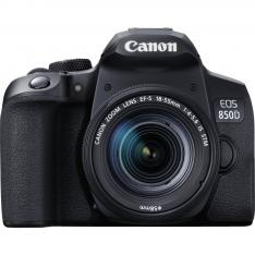CAMARA DIGITAL CANON EOS 850D+EF-S 18-55MM IS/  24.1MP/ DIGIC 8/ 45 PUNTOS DE ENFOQUE/ 4K/ WIFI/ BLUETOOTH