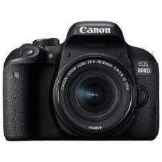 CAMARA DIGITAL REFLEX CANON EOS 800D 18-55 IS STM NEW/ CMOS/ 24.2MP/ DIGIC 7/ 45 PUNTOS DE ENFOQUE/ WIFI/ BLUETOOTH/ NFC