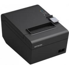 IMPRESORA TICKET TERMICA EPSON TM-T20 III RED & USB NEGRA