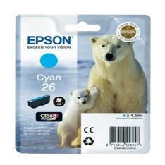 CARTUCHO TINTA EPSON T261240 CYAN 26 XP-600/605/700/800/ OSO POLAR