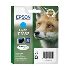 CARTUCHO TINTA EPSON T1282 CIAN 3.5ML S22/ SX125/ 420W/ 425W/ OFFICE BX305F/ ZORRO