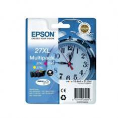 MULTIPACK EPSON T271540  27XL AMARILLO  CIANMAGENTA WF-3620/3460DTWF/DWF/ DESPERTADOR