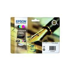 MULTIPACK TINTA EPSON T163640 XL WF-2010/2510/2520/2530/2540/ PLUMA