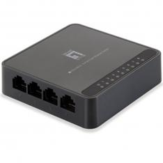 SWITCH SOBREMESA LEVEL ONE 8 PUERTOS FAST ETHERNET 10/100