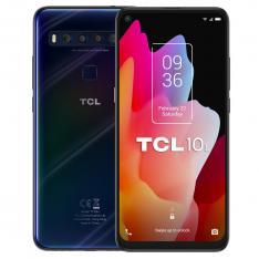 """TELEFONO MOVIL SMARTPHONE TCL 10L DARK BLUE / 6.53"""" / 64GB ROM / 6GB RAM / NTXVISION/ FHD+/ 48+8+2+2MPX - 16MPX / OCTA CORE / 4G / DUAL SIM / HUELLA"""