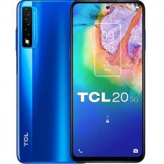 """TELEFONO MOVIL SMARTPHONE TCL 20 5G OCEAN BLUE 6.67""""/ 128GB ROM/ 6GB RAM/ 48+8+2 Mpx - 8 Mpx/"""