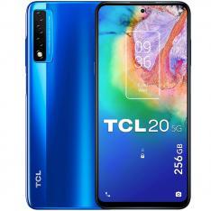 """TELEFONO MOVIL SMARTPHONE TCL 20 5G OCEAN BLUE 6.67""""/ 256GB ROM/ 6GB RAM/ 48+8+2 Mpx - 8 Mpx/"""