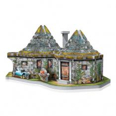 PUZZLE 3D WREBBIT HARRY POTTER LA CHOZA DE HAGRID 270 PIEZAS