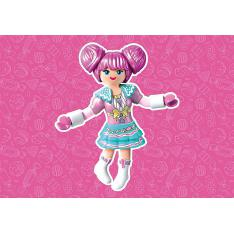 PLAYMOBIL ROSALEE EVERDREAMERZ ROSALEE CANDY WORLD