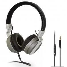 AURICULARES DIADEMA FONESTAR TVPHONES-62 / 20-20000HZ / POTENCIA 100MW / CABLE 5M / JACK 3.5MM / COLOR NEGRO / PLATA